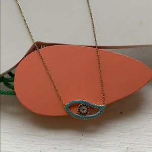 Jewelry - Evil eye necklace 925